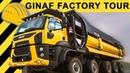 GINAF Trucks Extreme LKW Hausbesuch Factory Tour 10x8 mit 95 Tonnen