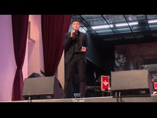 FANCAM 190905 Чансоб - SWAY (Frank Sinatra & Dean Martin Cover) + It's Art (PSY Cover) @ Military Concert