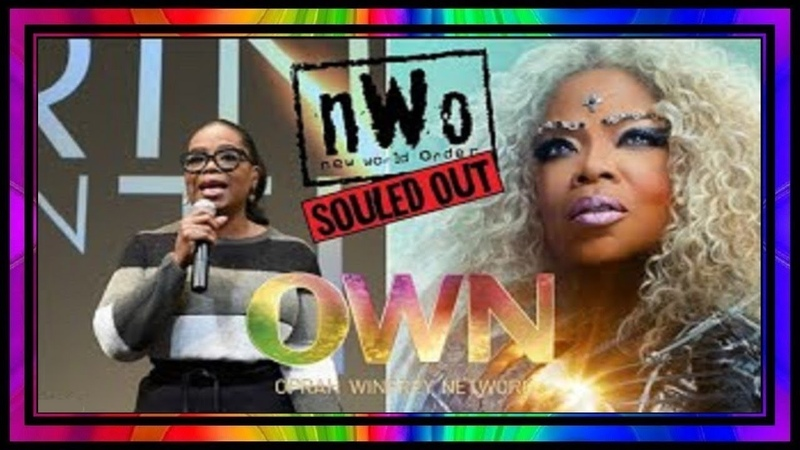 Oprah Sold Out To The NWO Scamdemic! OWN = NWO.