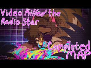 ⭐video killed the radio star⭐ complete glam-rock themed tigerstar map