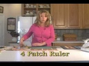 How to use the 4 patch and 9 patch rulers by Jodi Barrows
