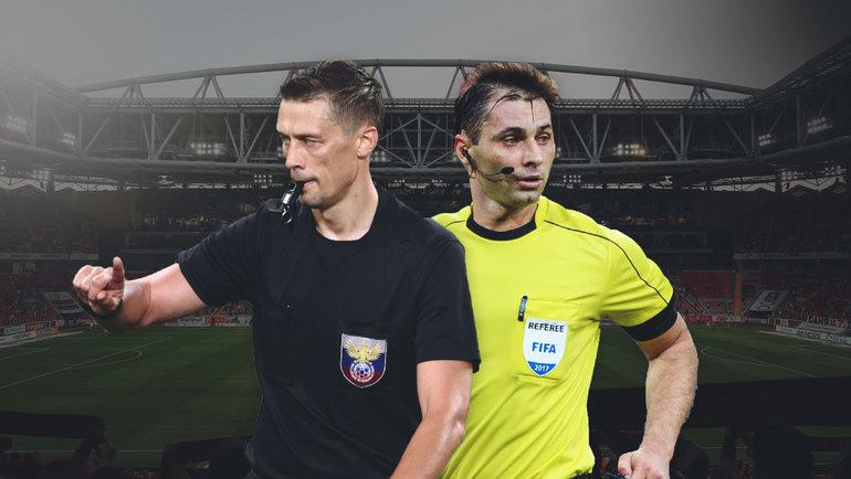 Василий Казарцев и Алексей Еськов