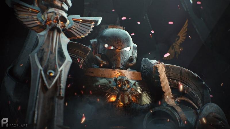 Primaris Black Templars warhammer fan cinematic