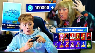 Kid Spends 500 on FORTNITE with Moms Credit Card... [MUST WATCH]