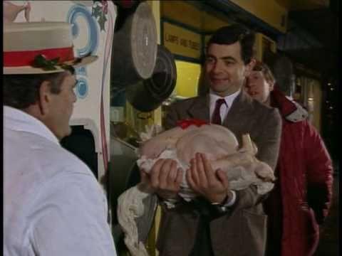 Mr Bean - soutěž o krocana, competition for turkey (vystřižená scéna, deleted scene, rare)