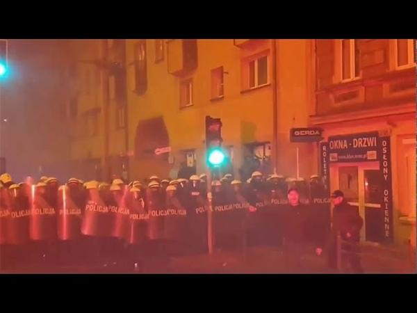 Będzie odwet za rozwiązany Marsz Niepodległości - blokady dróg i sklepów we Wrocławiu