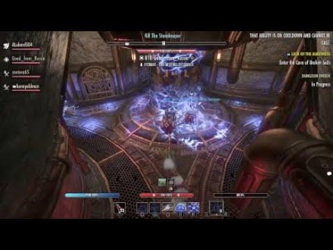 Frostvault Hardmode Soulgem Guild Run