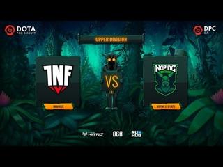 Infamous vs NoPing e-sports, Dota Pro Circuit 2021: S1 - SA, bo3, game 1 [Lex & CrystalMay]