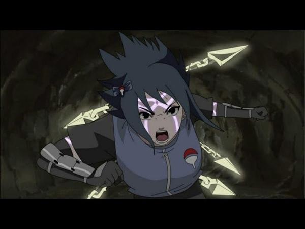 День когда Сарада пробудит мангекё шаринган в аниме Боруто
