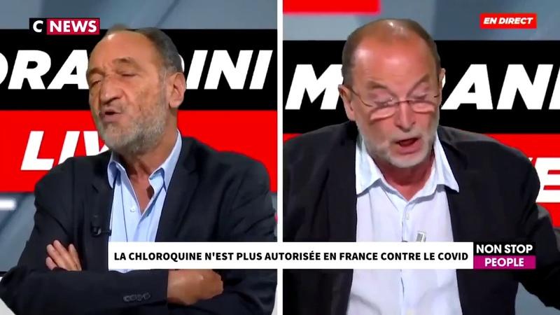 La chloroquine n est plus autorisée en France contre le covid..CNEWS