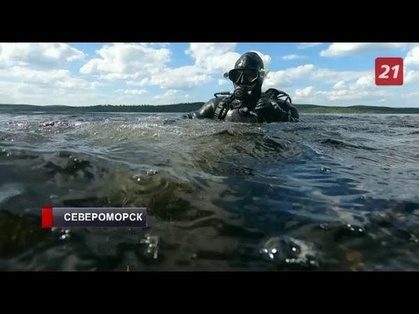 В Мурманской области со дна озера Среднее Ваенгское поднимают обломки Пе 2