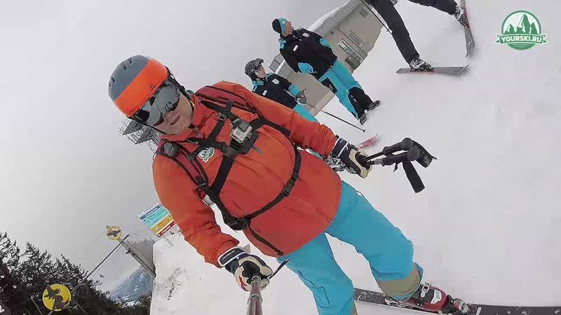 Тест горных лыж Fischer RC4 The Curv DTX