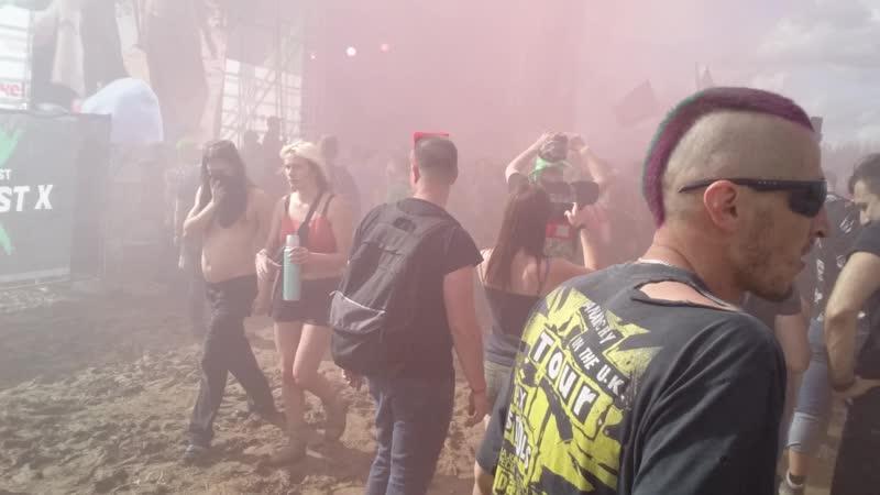 Адская дымовуха на F P G