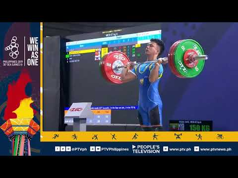 WATCH | 30th Southeast Asian Games - Weightlifting (Men 67kg)