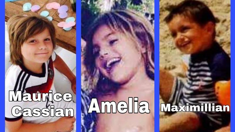 Dzieci Dietera Bohlena Cassian, Amelia, Maximillian