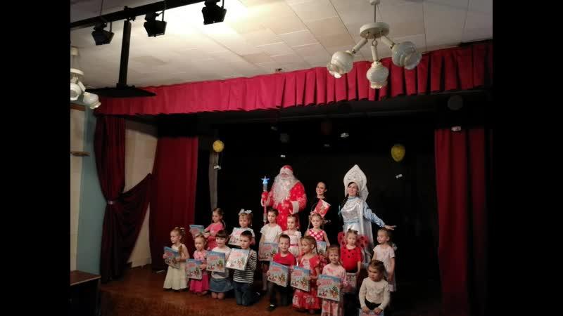 Новогодний праздник от Мульти-Пульти в театральной студии ТЭСТ