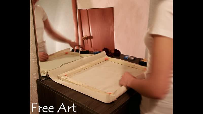 Изготовление холстов