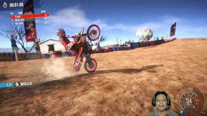 MX Nitro 10 North America Tour Part 1 Canyon Descent Winner Downhill Trail Seru Unleashed Gameplay