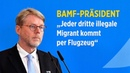 BAMF Chef Sommer Jeder dritte illegale Migrant kommt per Flugzeug
