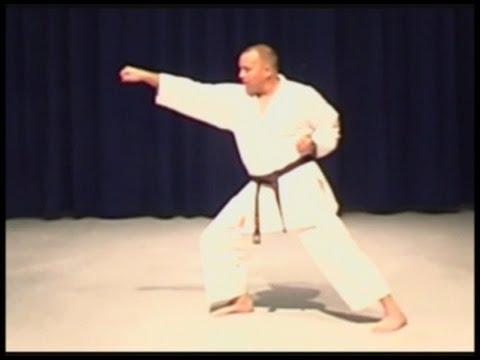 Shotokan karate Kizami zuki Jab Punch