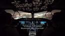 BOEING 787 NIGHT LANDING