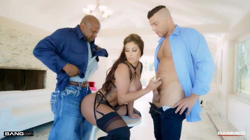 Bridgette B Gets Her Holes Drilled By Two Dicks Anal Treesome All Sex Big Tits Ass Milf