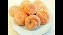 Слоистые САХАРНЫЕ КОЛЕЧКИ на Кефире.Вкусная и быстрая выпечка к чаю,из ничего.quick tea biscuits