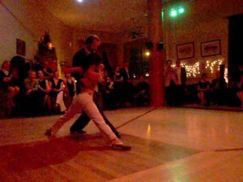 Nick Jones Diana Cruz crazy Tango to Lightnin' Hopkins March 2010