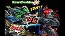 Выпуск № 3 / Устроили гонки на мотоциклах на трассе Kawasaki ZX10/Yamaha R1/R6/Porshe 911/Ducati V4s