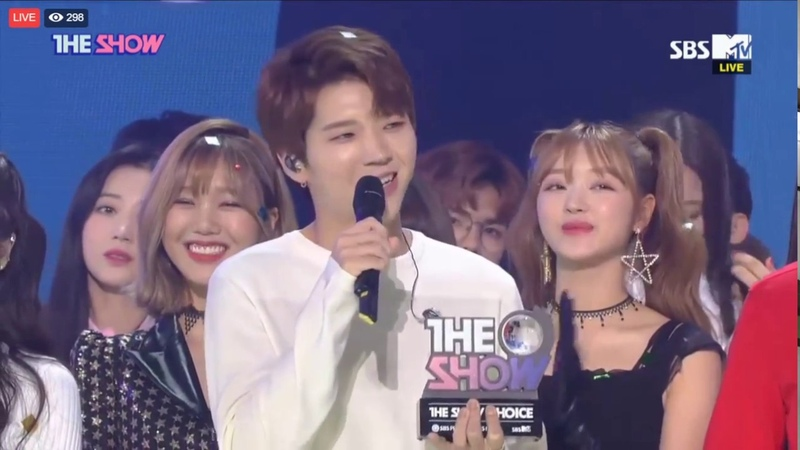180911 Nam Woohyun If only you are fine the Show first Win