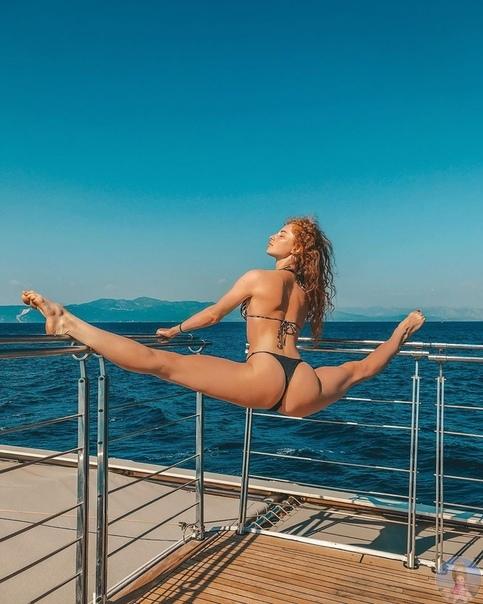Мастер спорта по художественной гимнастике Мария Михайлова