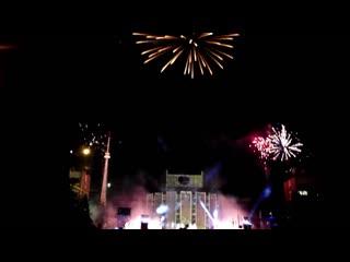 25 декабря в Челябинске открыли грандиозное световое шоу Южно уральское сияние