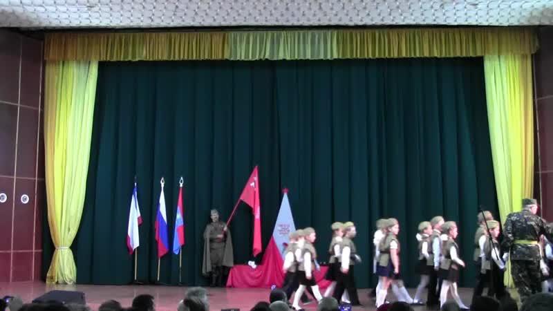 Парад конкурс строевой песни Мы помним Мы гордимся ДК Арабат г Щёлкино 9 мая 2019