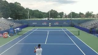 EMH v. Daniil Medvedev ATP World Tour Tennis 7.0 Practice Session