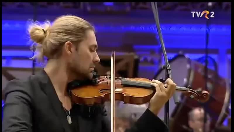 David Garrett at the George Enescu Festival with the Monte Carlo Philharmonic (R