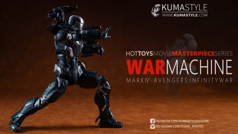 Toy Review: Hot Toys MMS499 D26 War Machine Mk IV (SideShow Exclusive Edition)