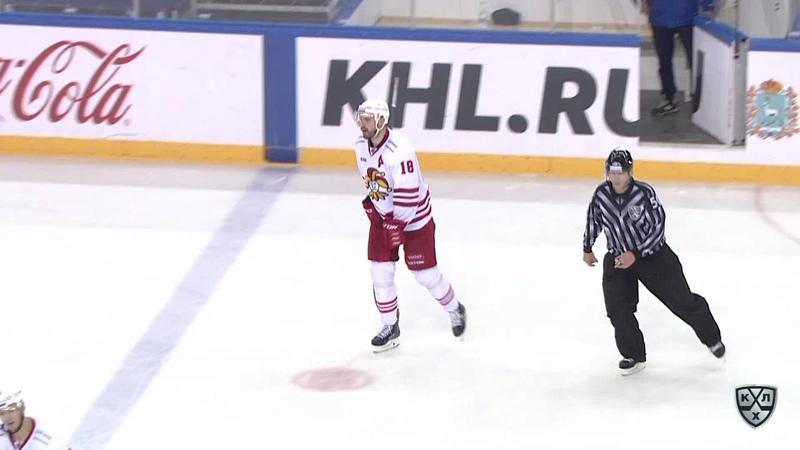 Моменты из матчей КХЛ сезона 17/18/19 • Удаление. Ессе Йоэнсуу (Йокерит) получил 220 минут штрафа 30.09