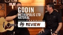 Godin - Metropolis LTD Natural HG EQ Acoustic Guitar Better Music
