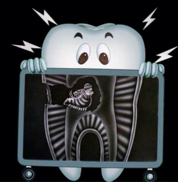 Картинка зуб прикол