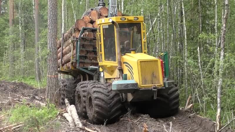 Трактор застрял в грязи Возможности трактора МТЗ на бездорожье Тракторный OFF ROAD