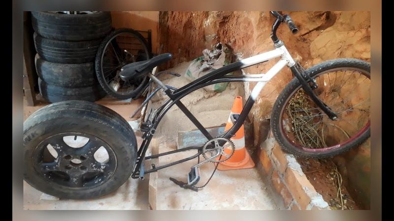 Um Novo Projeto de uma Nova Bicicleta Chopper