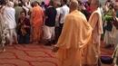 HH Radhanath Swami and HG Jananivas Prabhu Dancing in Sadhu Sanga Retreat May 2015