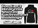 You Cant Wear This Shirt In Canadian Government Buildings