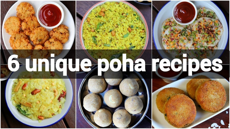 6 unique poha recipes collection aval recipes avalakki recipes पोहा रेसिपी
