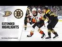 Anaheim Ducks vs Boston Bruins | Oct.14, 2019 | Game Highlights | NHL 2019/20 | Обзор матча