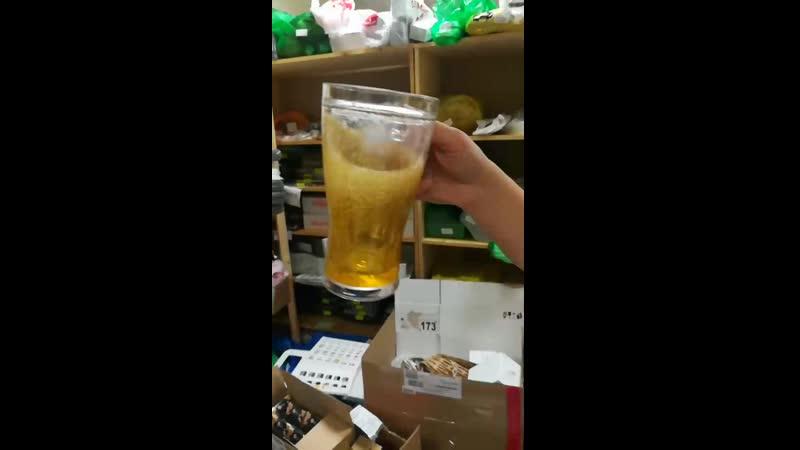 охлаждающий пивной бокал