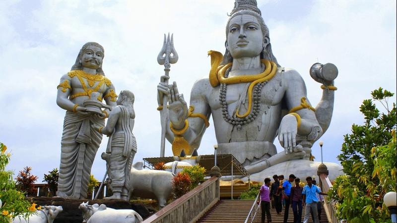 Индия ГОА Легенда о могучем лингаме Шивы