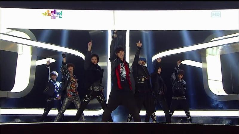 S M The Performance Zedd SPECTRUM 2012 SBS 'The Color of K POP' Part2 2012 12 29