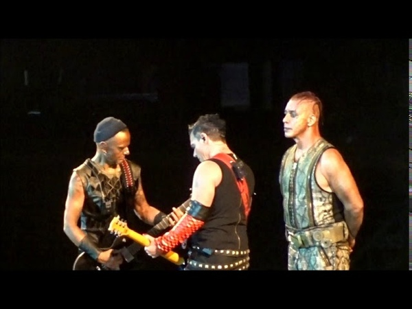 Rammstein Ausländer Kiss Richard Paul Kuss Barcelona