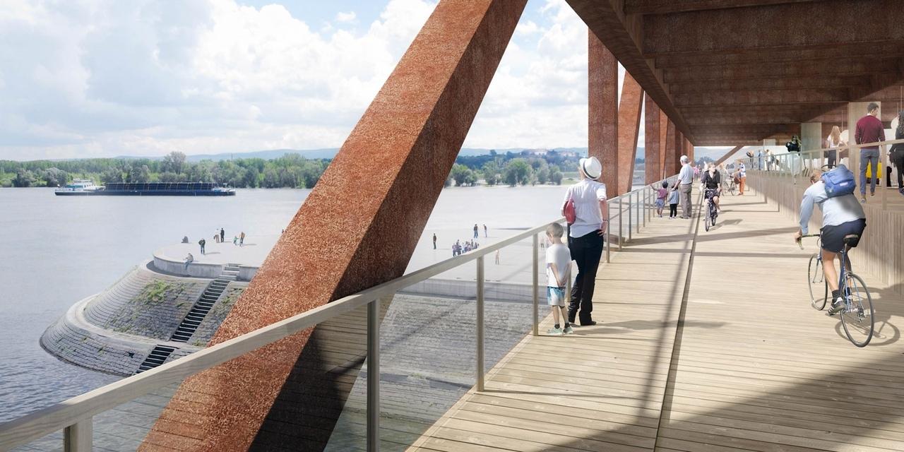 Мост-гостиница Elbow Shadow Bridge в Сербии
